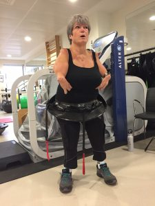 Simone Illger, aged 55 shares her experiences of discovering the benefits of exercise