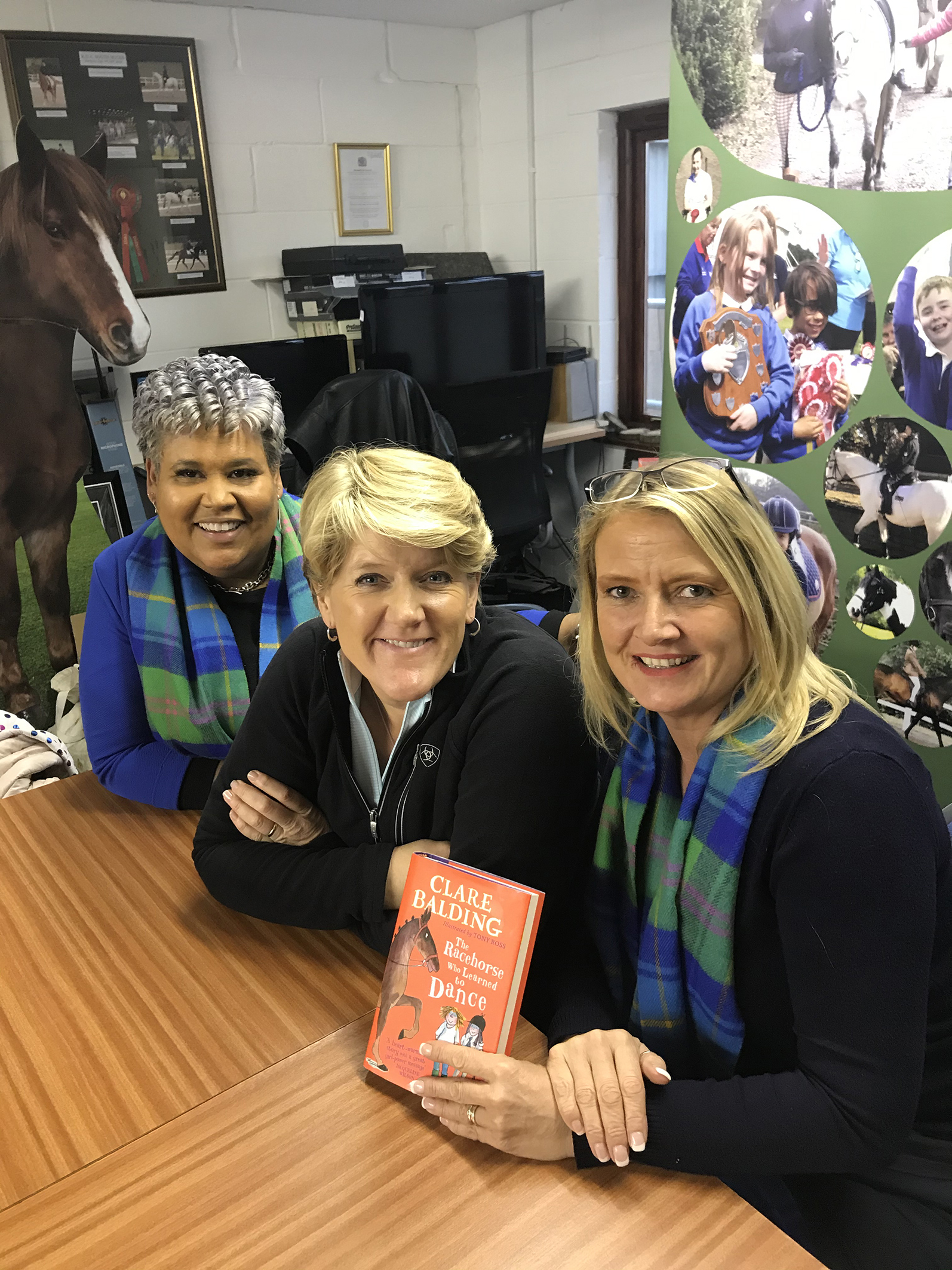 Clare Balding's New Book Comes Under Review From the Heart of RDA
