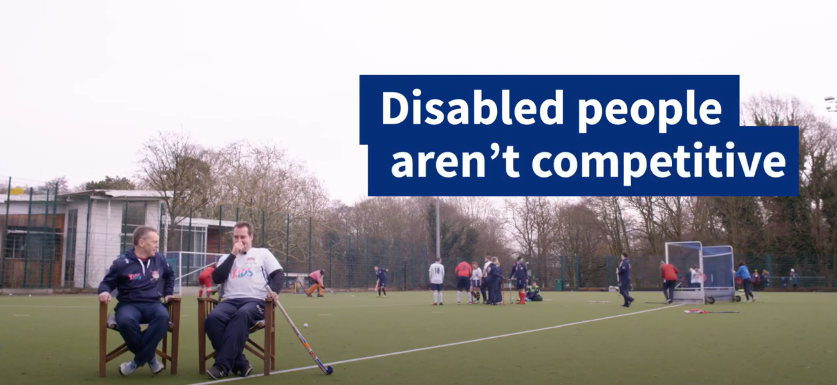 Activity Alliance #whosays video finalist in this years Charity Film Awards