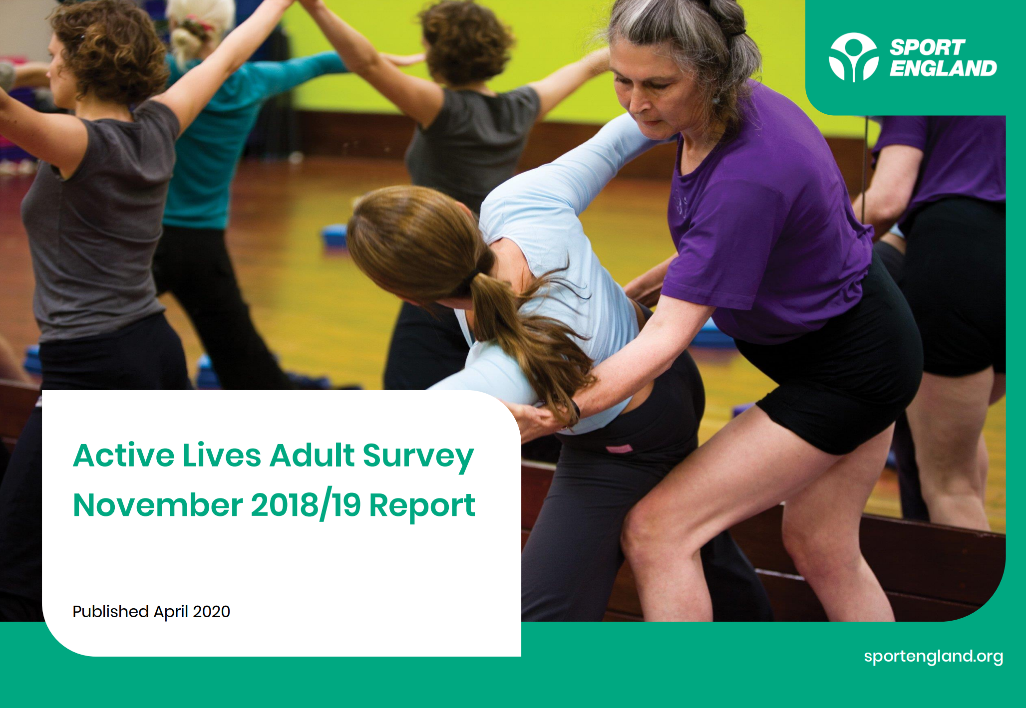 New Active Lives Survey shows greater number of disabled people were getting active before Coronavirus pandemic