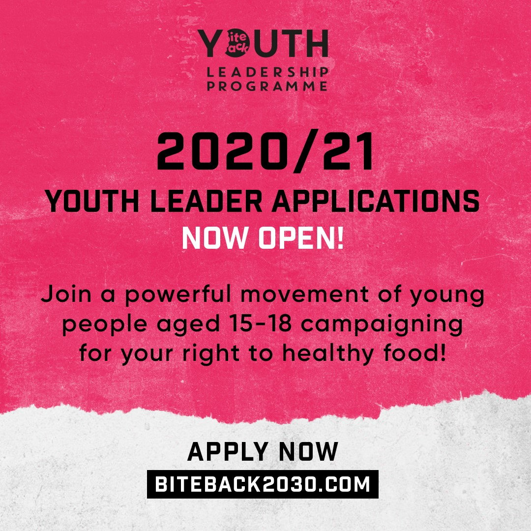 Become a Youth Leader for BiteBack 2030