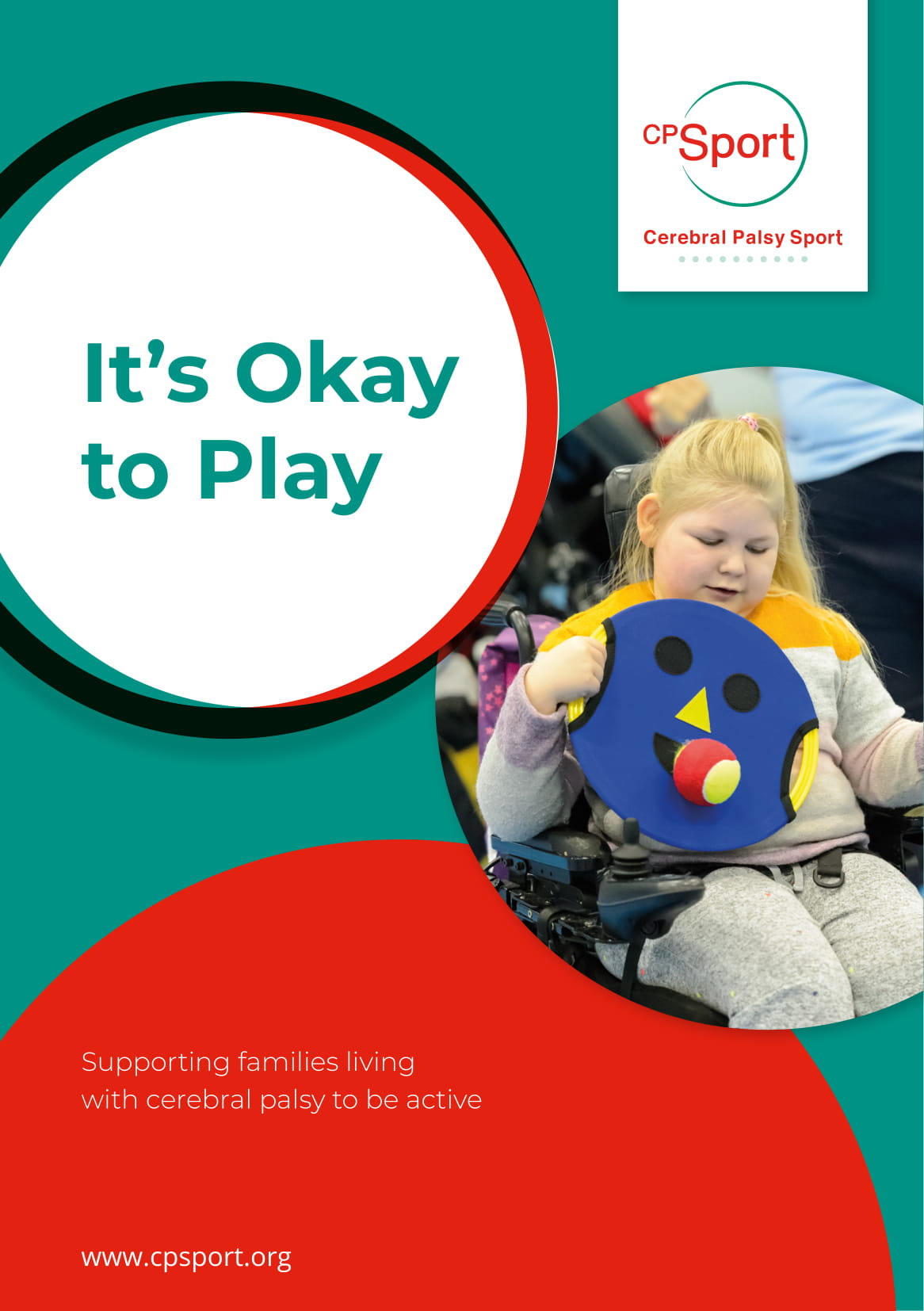 Cerebral Palsy Sport launch 'It's OK to play' resources