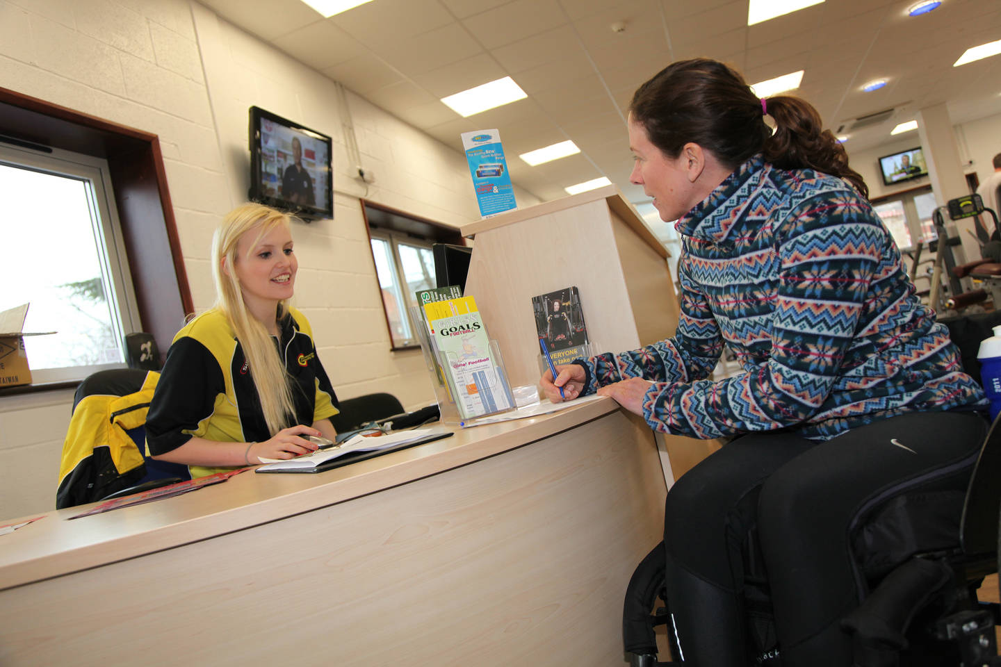 Empowering sport and leisure through inclusive customer service