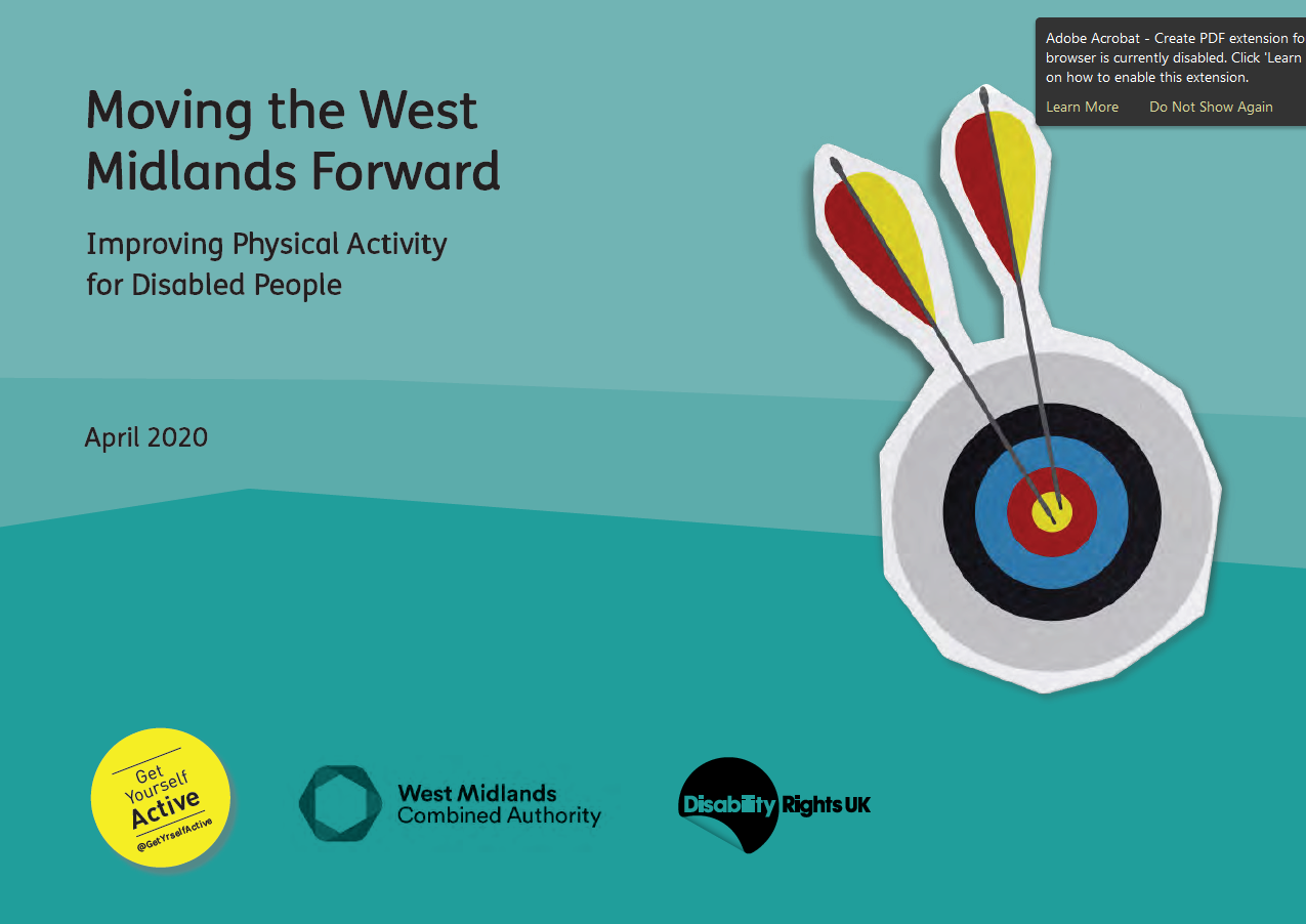 Moving the West Midland's Forward: Improving Physical Activity for Disabled People