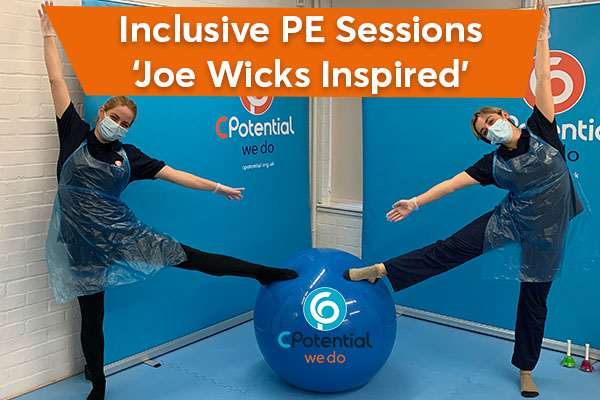 National children's charity launches Joe Wicks inspired PE sessions for disabled children