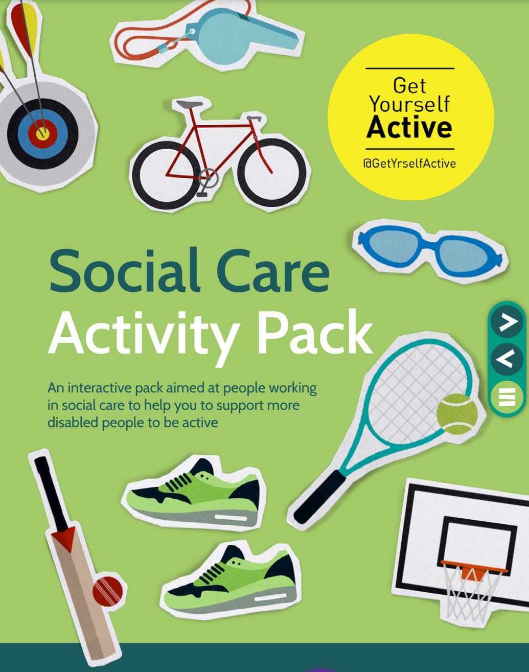 Get Yourself Active launches new Social Care Activity pack