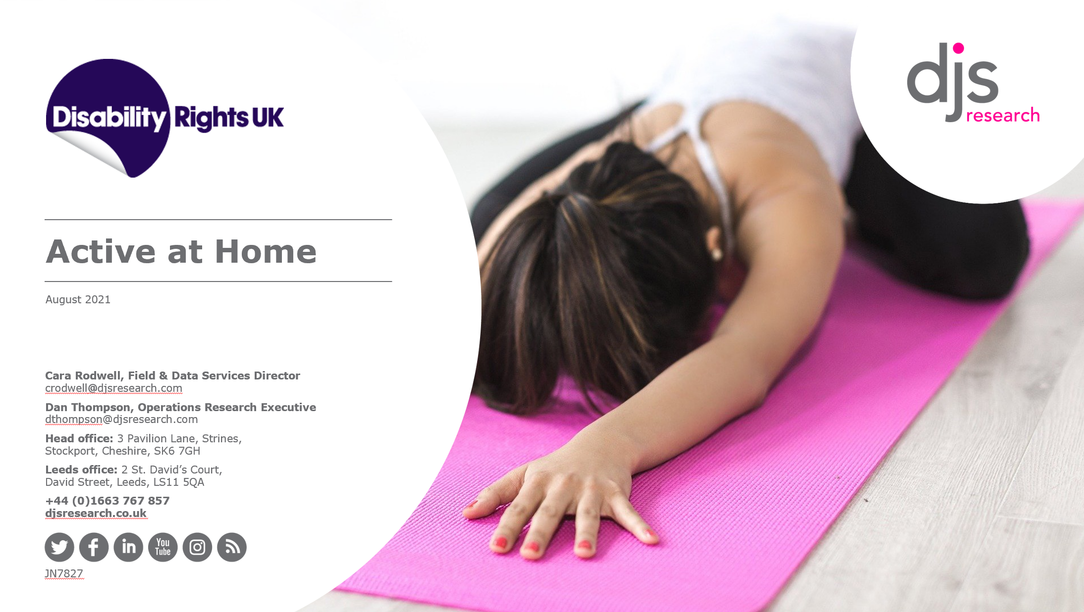 Get Yourself Active releases Active at Home research